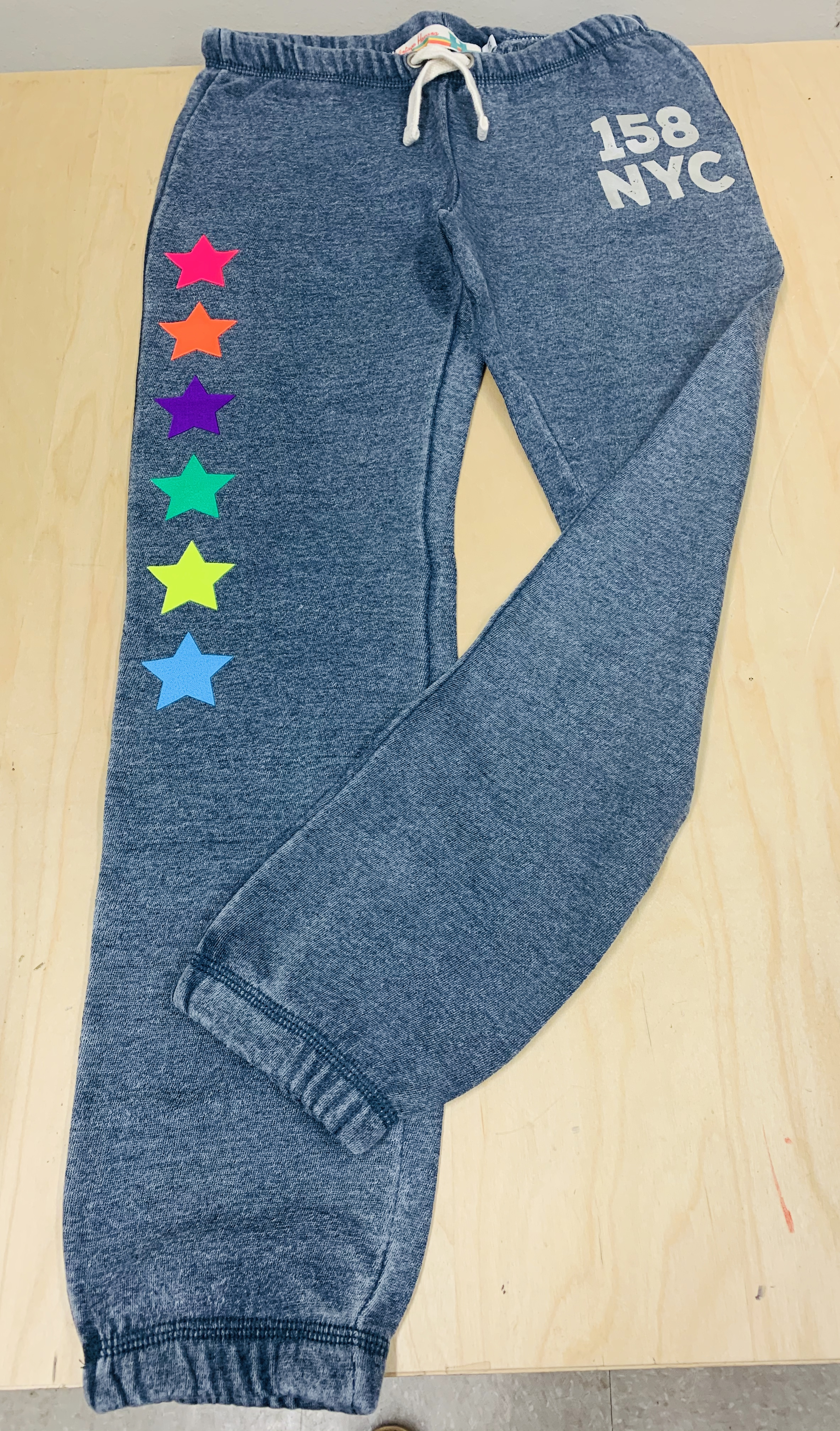 Sweatpants - Blue w/ Stars - Youth